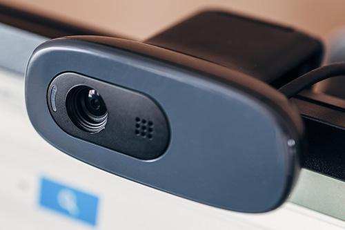 専用ウェブカメラ